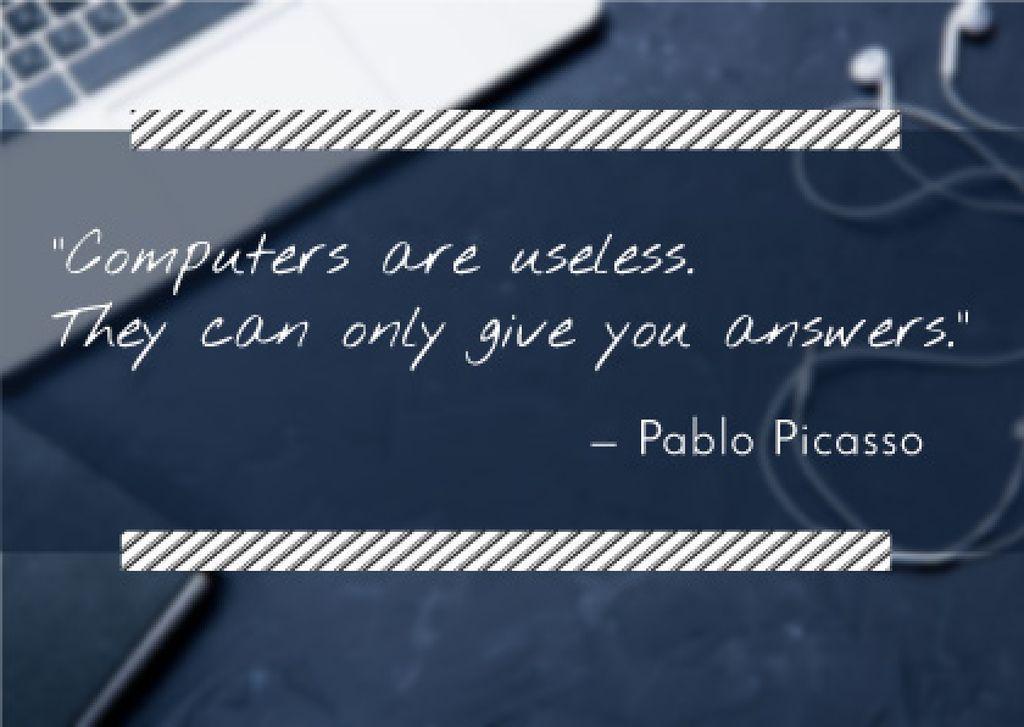 Motivational quote poster — Crear un diseño