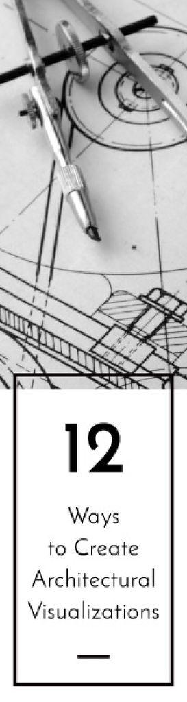 Architectural visualizations banner — Crea un design