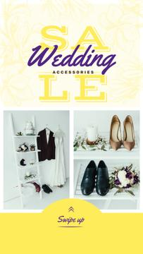 Sale Offer Stylish Set of Wedding Outfits | Stories Template