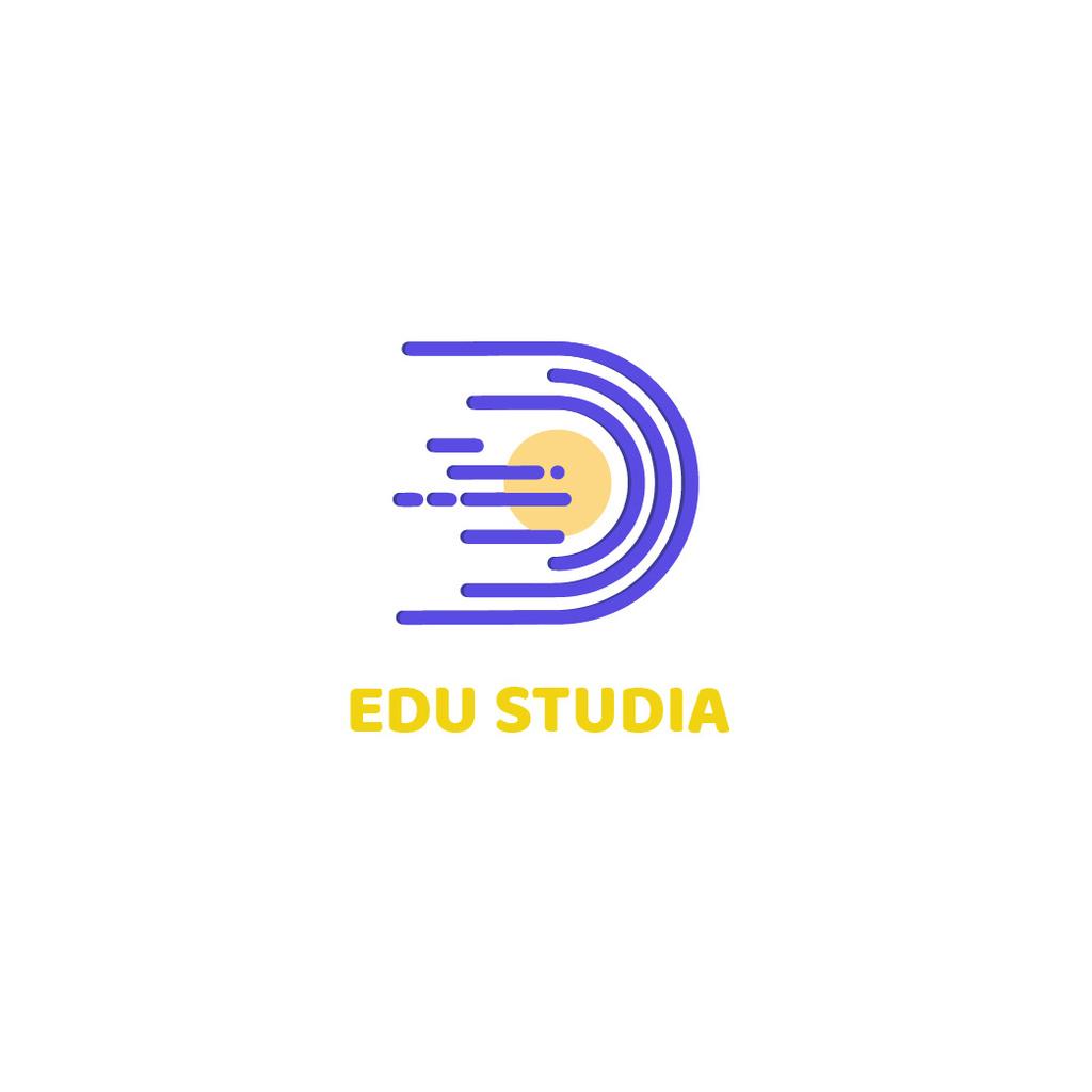 Education Studio with Planet in Space — ein Design erstellen