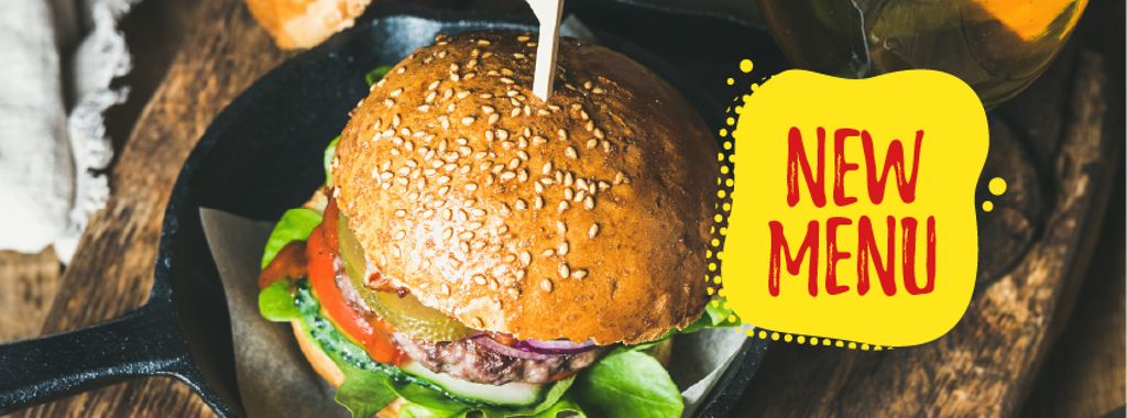 Fast Food Offer with Tasty Burger — Créer un visuel