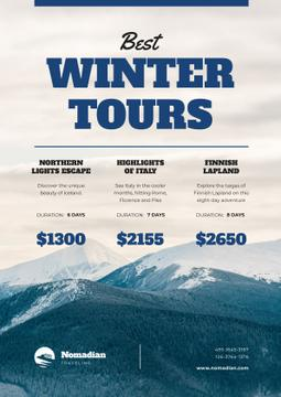 Winter Tour Offer Snowy Mountains