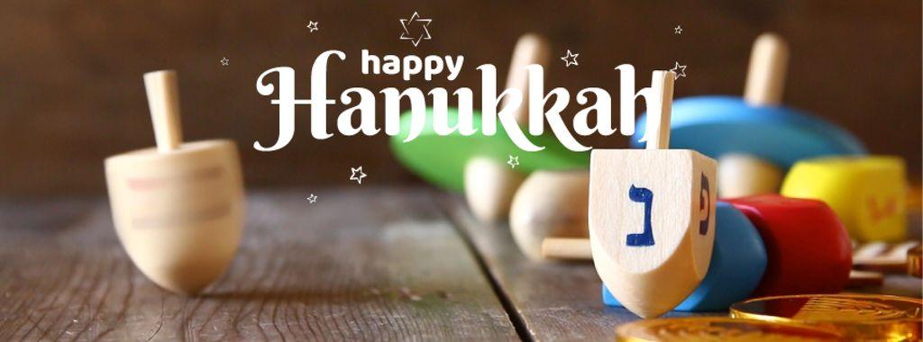 Happy Hanukkah dreidel — Modelo de projeto