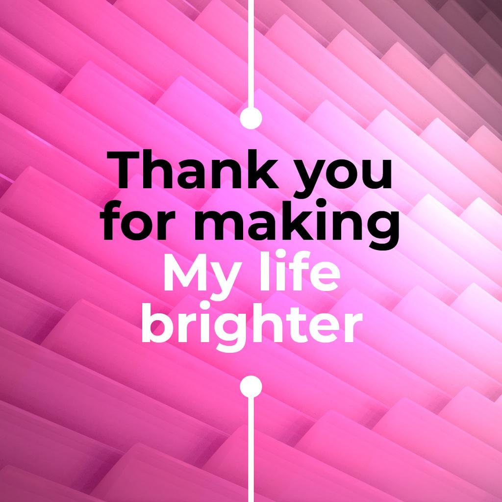 Moving pink tiles — Crea un design