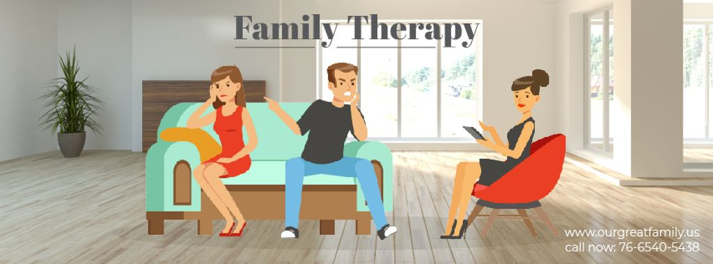 Family Therapy Center Ad — Modelo de projeto