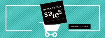 Black Friday Sale Shopping cart