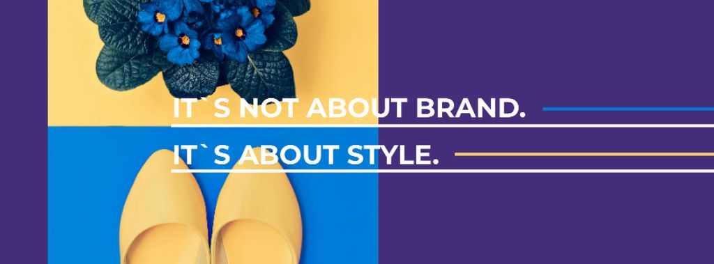 Fashion Ad with female shoes — Create a Design