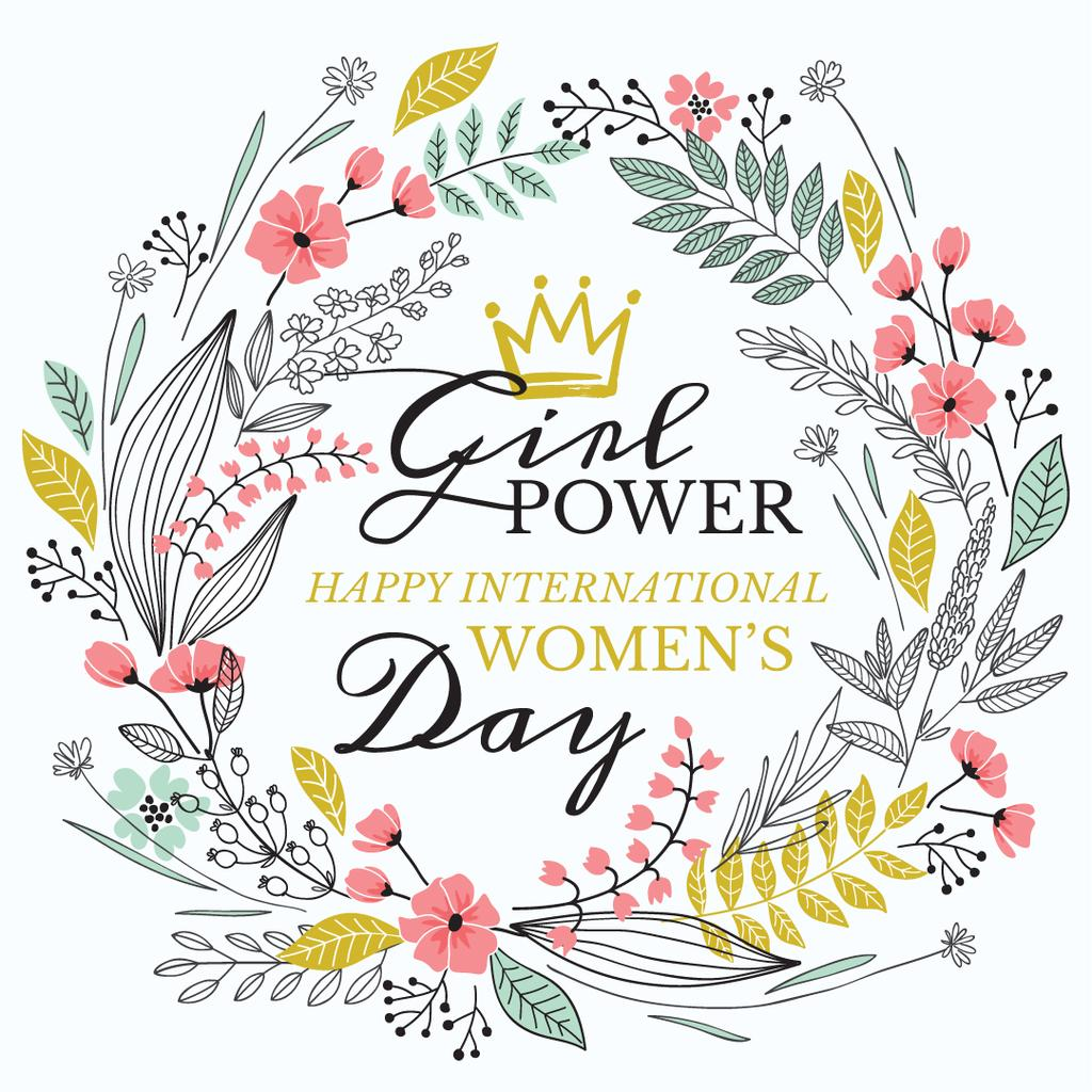 Women's day greeting card — Créer un visuel