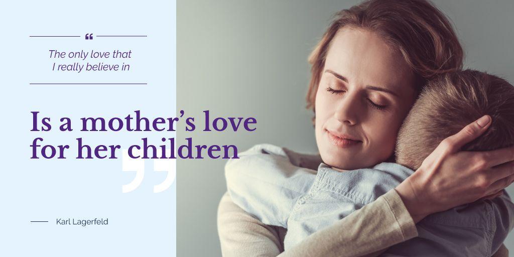Happy mother with son — ein Design erstellen