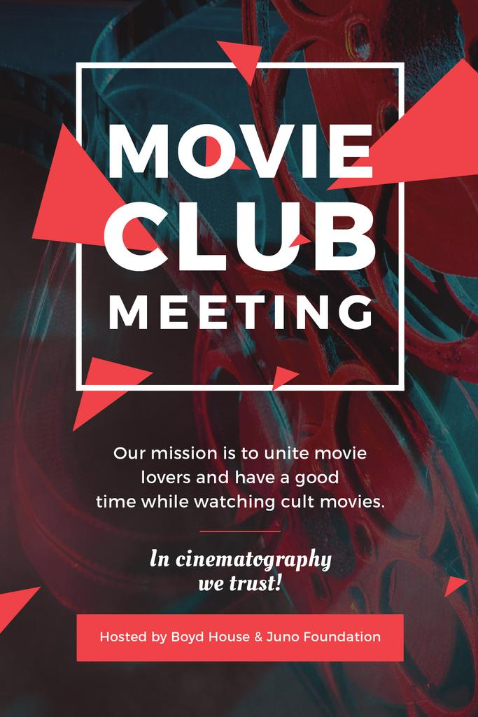 Movie Club Meeting Vintage Projector | Tumblr Graphics Template — Створити дизайн