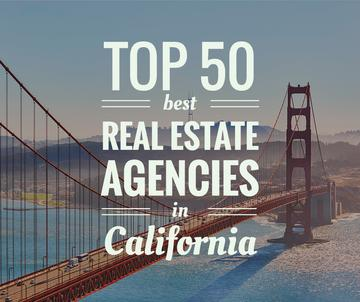 Real estate agencies in California poster