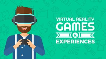 Virtual reality games Ad