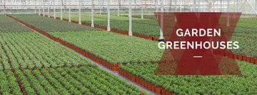 commercial garden greenhouses poster