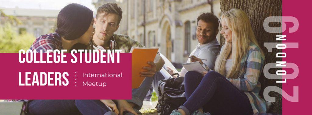 College student leaders: international meetup — Створити дизайн