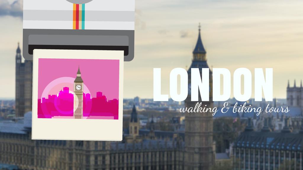 London Big Ben Famous Travelling Spot | Full Hd Video Template — Создать дизайн