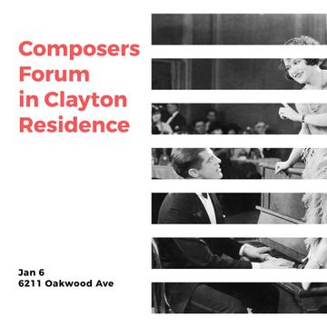 Composers Forum in Residence