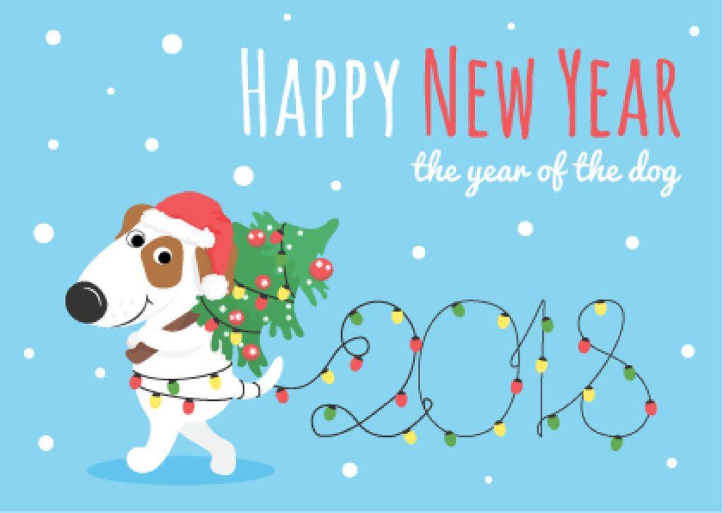 Happy New Year card — Crea un design