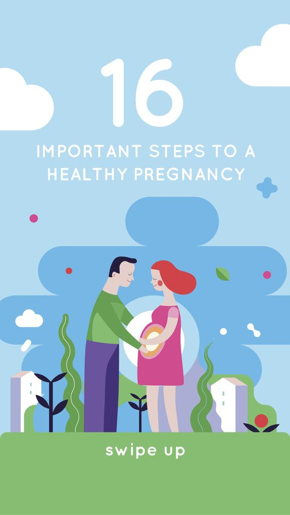 Pregnancy Courses with Happy Couple — Create a Design