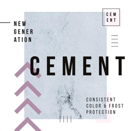 Plantilla de diseño de Grey concrete wall Instagram