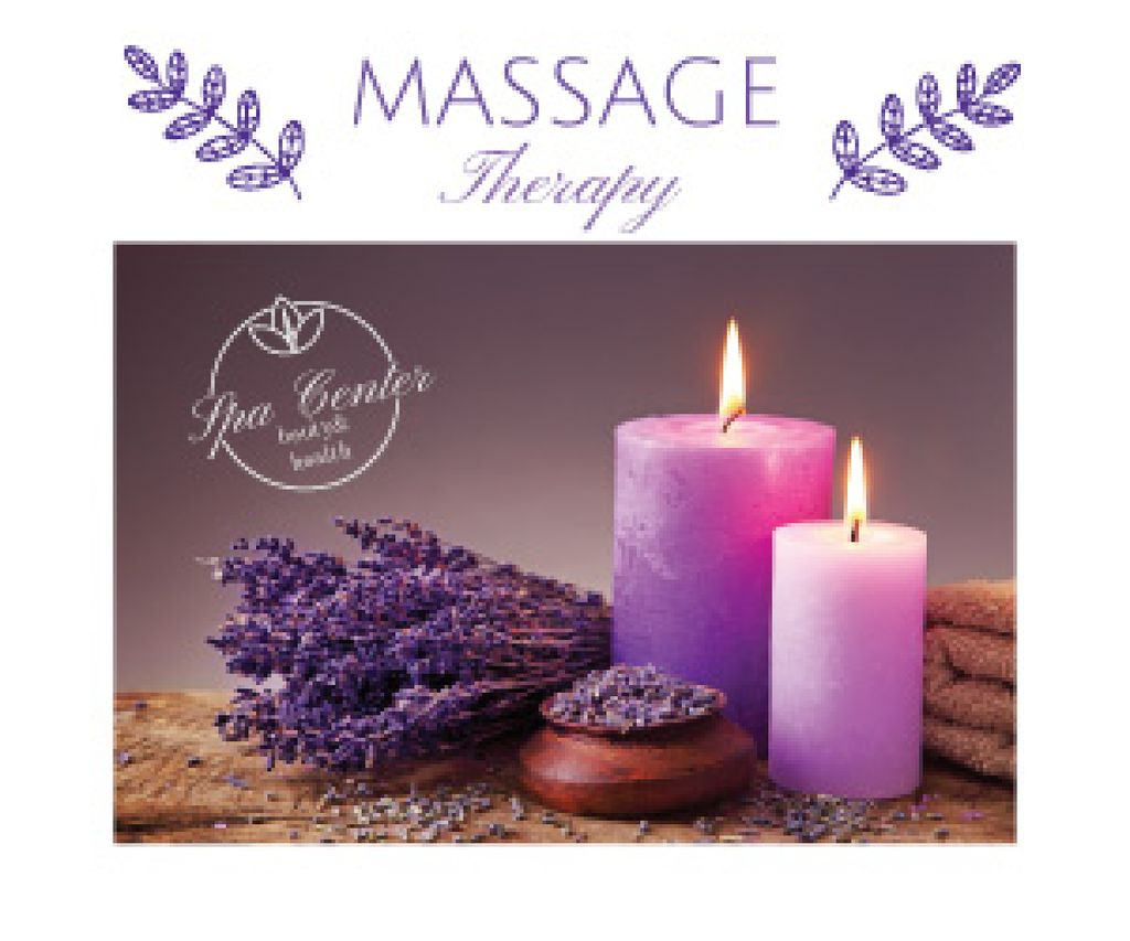 Massage therapy advertisement — Create a Design