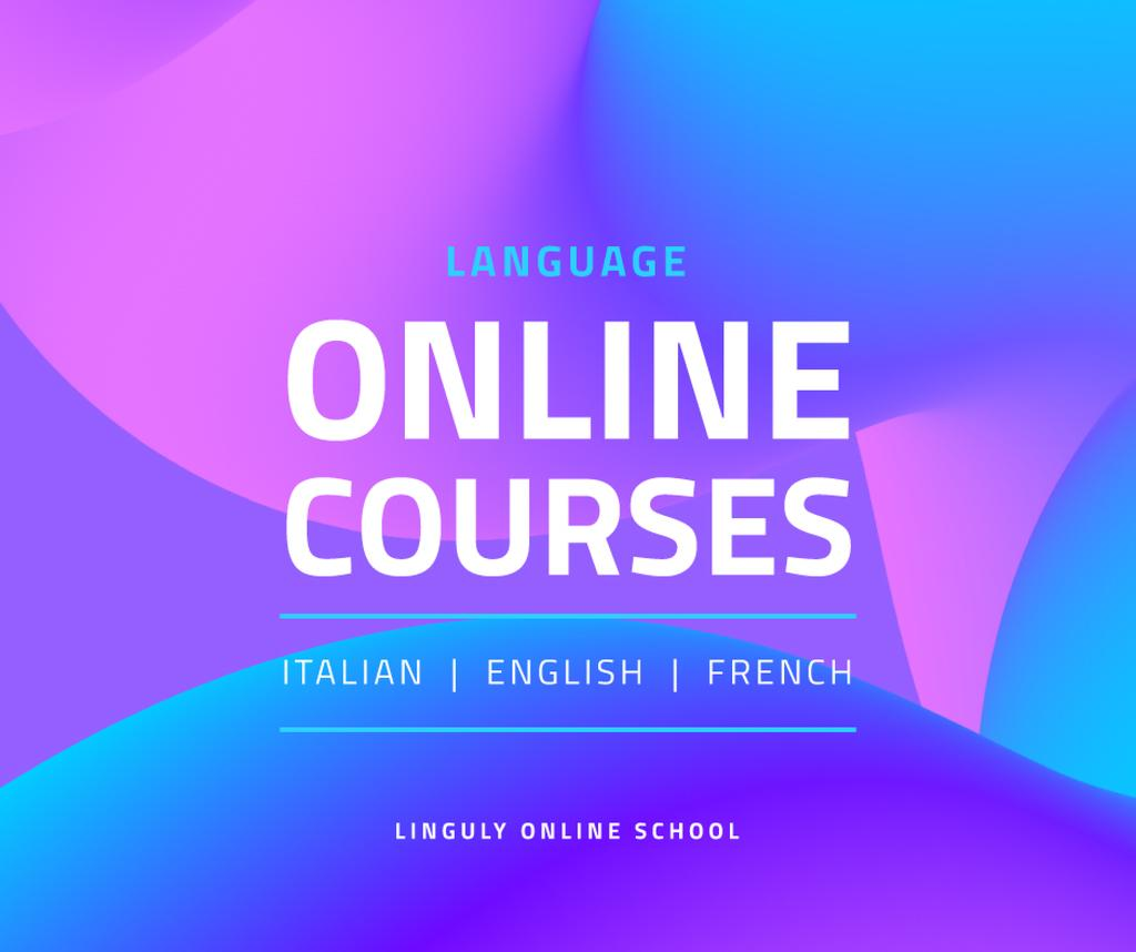 Language Online Courses Ad —デザインを作成する