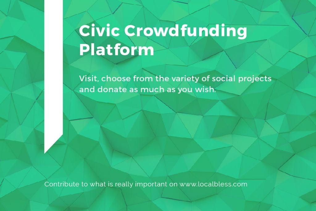Civic Crowdfunding Platform — Create a Design