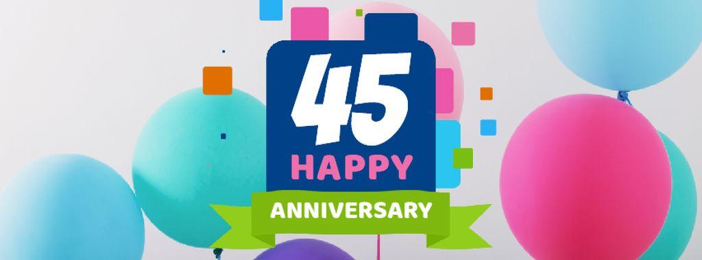 Anniversary celebration template — Maak een ontwerp