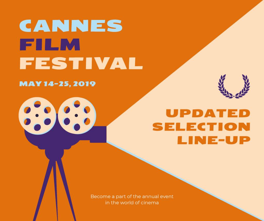 Cannes Film Festival poster — Crear un diseño