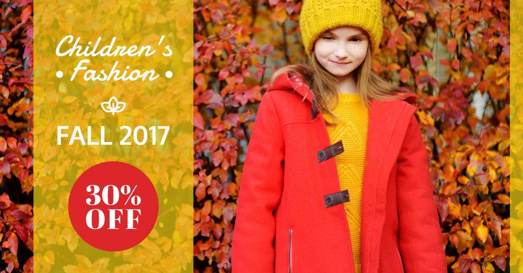 Discount for children's collection  — ein Design erstellen