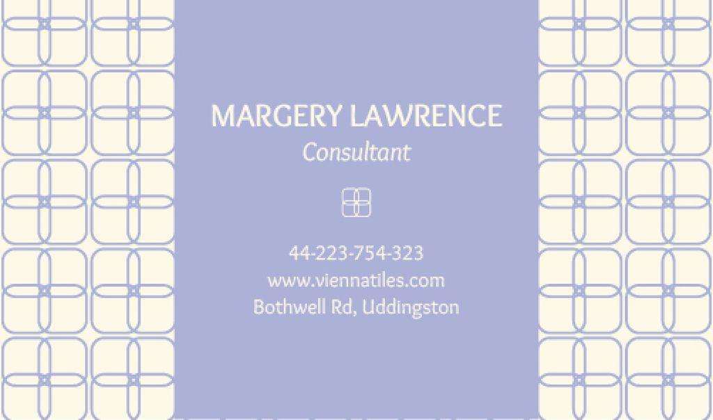Modern business card - Vytvořte návrh