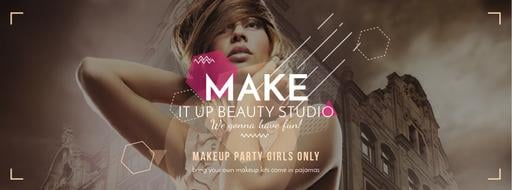 Makeup Party For Girls FacebookCover