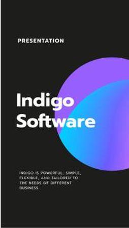 Software Services company promotion Mobile Presentation – шаблон для дизайну