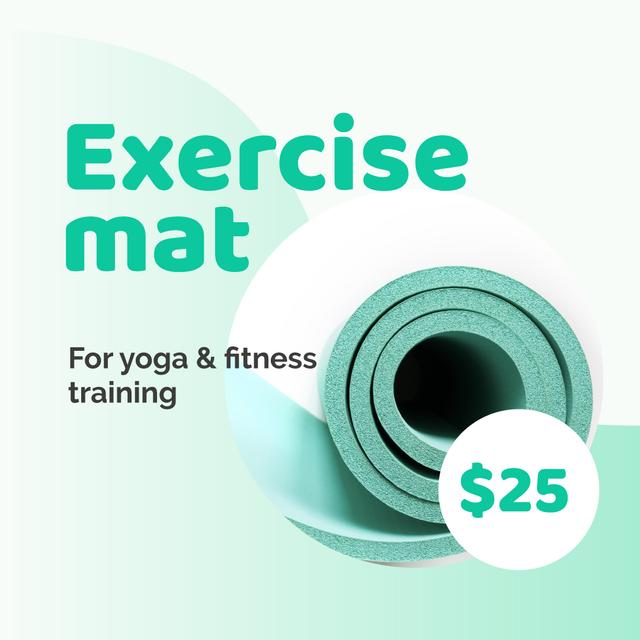 Modèle de visuel Yoga Mat Special Offer - Instagram