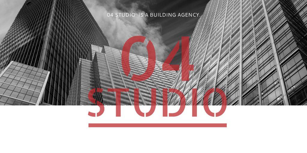Building agency banner — Crea un design