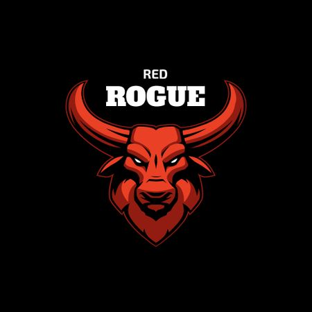 Bull for Sport team emblem Logo Modelo de Design