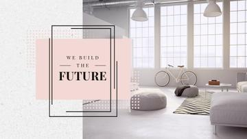 Cozy Home Interior Design in White | Full HD Video Template