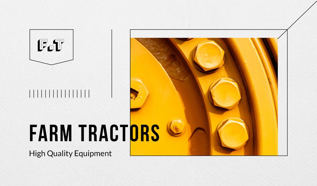 Tractor metal details — Crea un design
