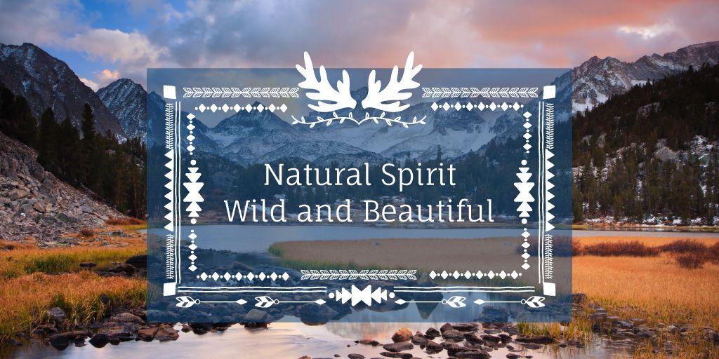 Natural spirit banner — Create a Design