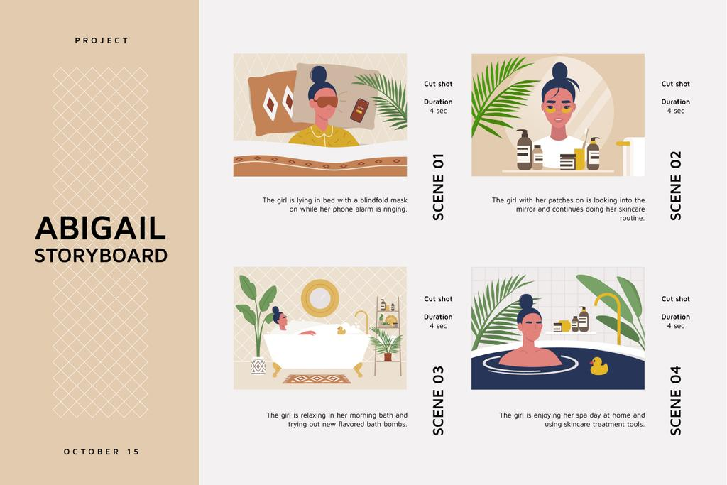 Morning Beauty routine — Створити дизайн