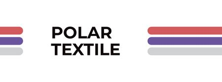 Modèle de visuel Textile towels offer colorful lines - Facebook cover