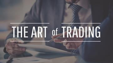 the art of trading poster