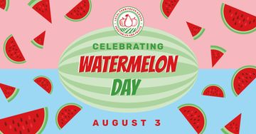 Watermelon Day Celebration Announcement | Facebook Ad Template