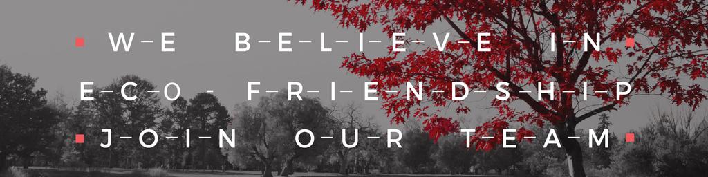 Eco-friendship concept — Créer un visuel