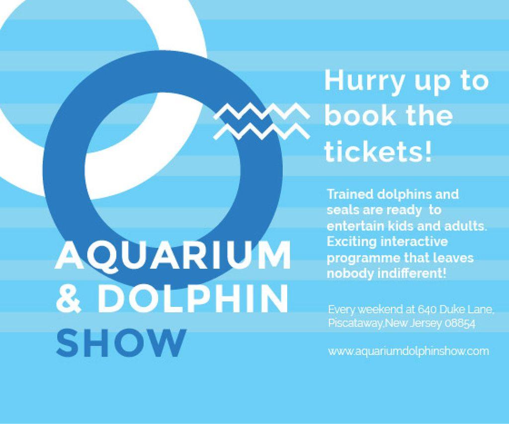 Aquarium & Dolphin show — Modelo de projeto