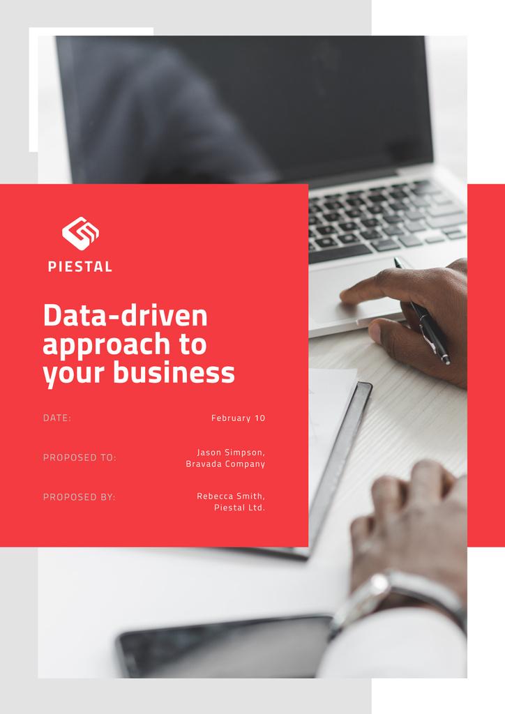 Business Data platform services Proposal – шаблон для дизайну