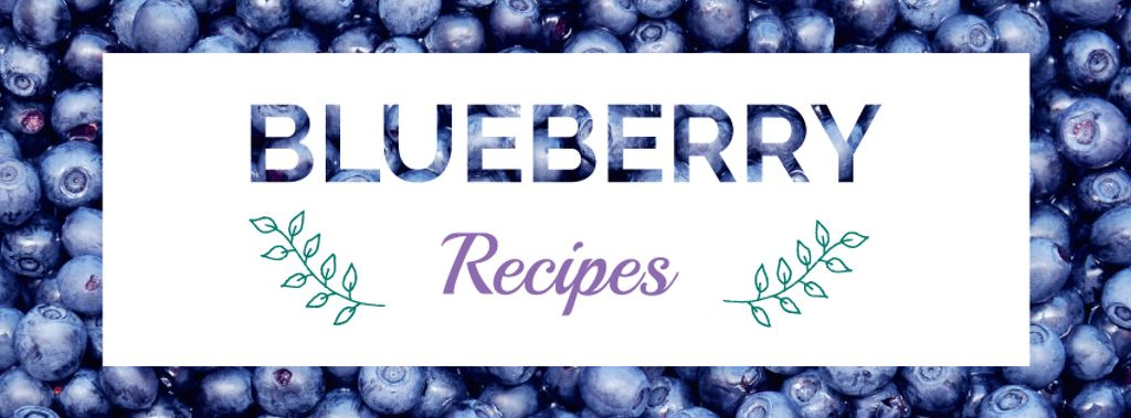Raw ripe Blueberries recipes —デザインを作成する