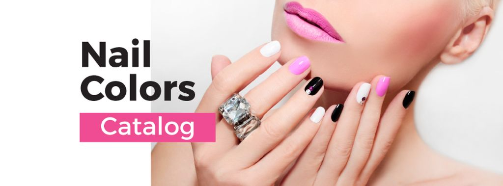 Female Hands with Pastel Nails for Manicure trends — Create a Design