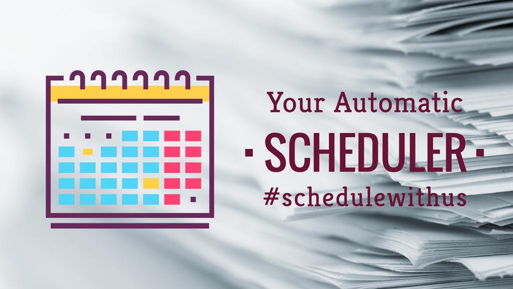 Schedule calendar icon — Create a Design
