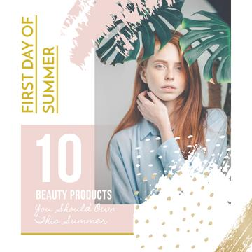 Beauty Products guide on First Day of Summer