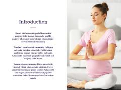 Pregnant woman practicing yoga
